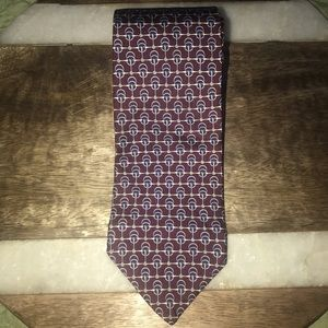 Brooks Brothers Silk Red/blue tie